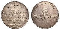 1 Thaler República de las Dos Naciones (1569-1795) Plata Augusto II de Polonia (1670 - 1733)