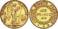 100 Franc Troisième République (1870-1940)  Or