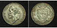 2 Крона Ліхтенштейн Срібло Johann II, Prince of Liechtenstein (1840-1929)