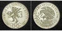 25 Песо Соединённые Штаты Мексики (1867 - ) Серебро
