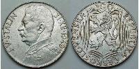 100 Krone Tchécoslovaquie  (1918-1992) Argent Joseph Stalin