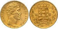 20 Franc Kingdom of France (1815-1830) Gold Charles X of France (1757-1836)