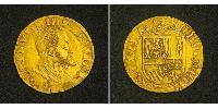 1/2 Реал Габсбургская Испания (1506 - 1700) Золото Филипп II (король Испании) (1527-1598)
