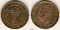 1 Cent Sri Lanka Bronce Jorge VI (1895-1952)