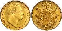 1 Соверен Сполучене королівство Великобританії та Ірландії (1801-1922) Золото Вільгельм IV (1765-1837)