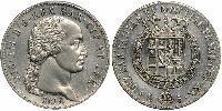 5 Lira Regno di Sardegna (1324 - 1861) Argento Vittorio Emanuele I di Savoia