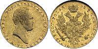 25 Zloty Royaume du Congrès (1815-1915) Or Alexandre I (1777-1825)