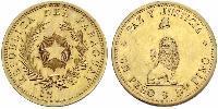 1 Peso Republic of Paraguay (1811 - ) Gold
