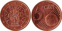 5 Eurocent Republic of Austria (1955 - ) Copper