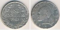 1 Dollaro Liberia Argento