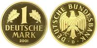 1 Mark Repubblica Federale di Germania (1990 - ) Oro