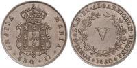 5 Reis Regno del Portogallo (1139-1910) Rame Maria II del Portogallo (1819-1853)