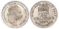 10 Крейцер Королiвство Угорщина (1000-1918) / Австро-Угорщина (1867-1918) Срібло Франц Иосиф I (1830 - 1916)