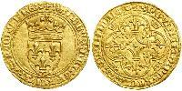 1 Ecu Kingdom of France (843-1791) Gold Charles VI of France (1368-1422)