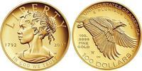 100 Dollar 美利堅合眾國 (1776 - ) 金