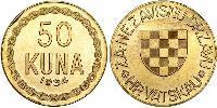 50 Kuna Croatia Gold