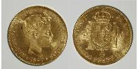 100 Peseta Kingdom of Spain (1874 - 1931) Or Alfonso XIII of Spain (1886 - 1941)