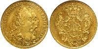 6400 Reis Brazil Gold Peter III of Portugal (1717-1786)