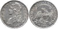 50 Cent USA (1776 - ) Silver
