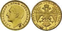1 Ducat Reino de Yugoslavia (1918-1943) Oro Alexander I of Yugoslavia (1888 - 1934)