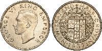 1/2 Крона(англійська) Нова Зеландія Срібло Георг VI (1895-1952)
