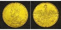 25 Leu Rumänien Gold Karl I. (Rumänien) (1839 - 1914)