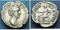 1 Denier Empire romain (27BC-395) Argent Faustine l