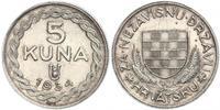 5 Kuna Croatia Silver