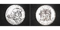 10 Dollar Jamayica (1962 - ) Argent Christophe Colomb (1451 - 1506)