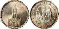 5 Reichsmark Третій рейх (1933-1945) Срібло
