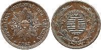 4 Centesimo Uruguay 銅