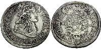 15 Крейцер Королевство Венгрия (1000-1918) Серебро Леопольд I (император Священной Римской империи)(1640-1705)