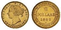 2 Доллар Канада Золото Виктория (1819 - 1901)