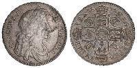 1/2 Crown Kingdom of England (927-1649,1660-1707) Silver Charles II (1630-1685)