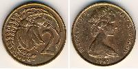 2 Cent Neuseeland Bronze Elizabeth II (1926-)