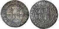 4 Real Nouvelle-Espagne (1519 - 1821) Argent Charles V du Saint-Empire  (1500-1558)