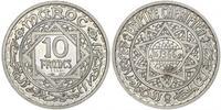 10 Franc Marruecos