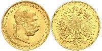 20 Крона Австро-Угорщина (1867-1918) Золото Франц Иосиф I (1830 - 1916)