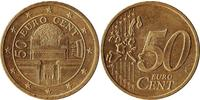 50 Eurocent Republic of Austria (1955 - ) Copper