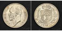 1 Krone Liechtenstein Argento Johann II, Prince of Liechtenstein (1840-1929)