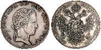 1 Thaler Kaisertum Österreich (1804-1867) Silber Ferdinand I of Austria (1793 - 1875)