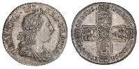 1 Shilling Britisches Weltreich (1497 - 1949) / Königreich Großbritannien (1707-1801) Silber Georg III (1738-1820)