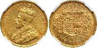 5 Dollar Canada Or George V (1865-1936)