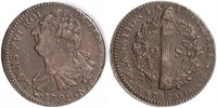 2 Sol Kingdom of France (843-1791) Bronze Ludwig XVI (1754 - 1793)
