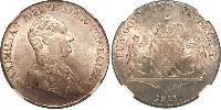 1 Thaler 巴伐利亞王國 (1806 - 1918) 銀 马克西米利安一世 (巴伐利亚国王) (1756 - 1825)