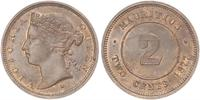 2 Cent Maurice  Victoria (1819 - 1901)