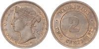 2 Cent Mauritius  维多利亚 (英国君主)