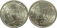 10 Eurocent Republic of Austria (1955 - ) Cobre