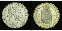 1 Форінт Австро-Угорщина (1867-1918) Срібло Франц Иосиф I (1830 - 1916)