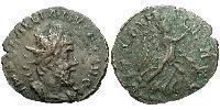1 Antoninianus Gallic Empire (260-274) Billon Ulpius Cornelius Laelianus (?-269)